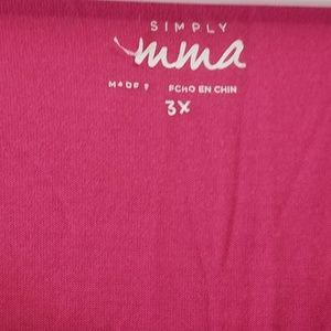 Simply Emma Tops - Simply Emma Pink Top 💗 Plus Size 3X